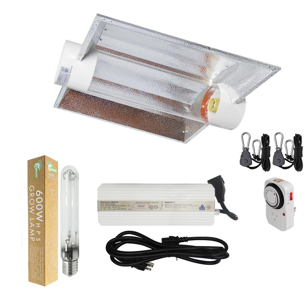 600-Watt HPS Grow Light System With 6 In. Cool Tube XL