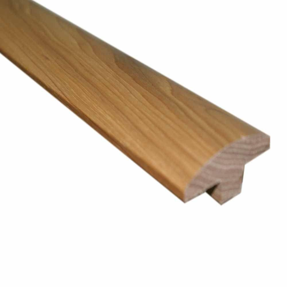 Millstead Southern Pecan 3/4 in. Thick x 2 in. Wide x 78 in. Length Hardwood T-Molding