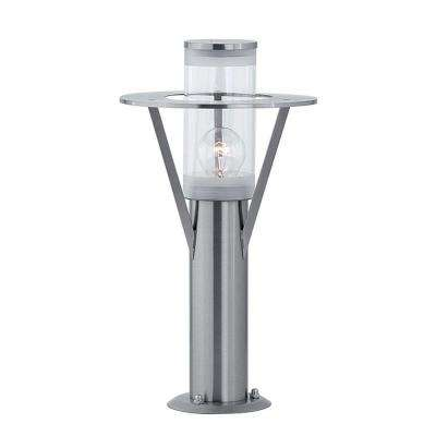 Belfast 1-Light Stainless Steel Outdoor Base Light