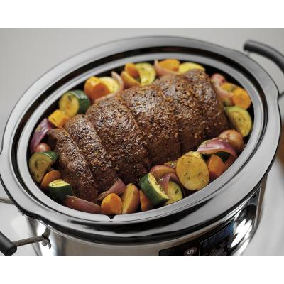 Hamilton Beach-Set and Forget Programmable 6 Qt. Slow Cooker