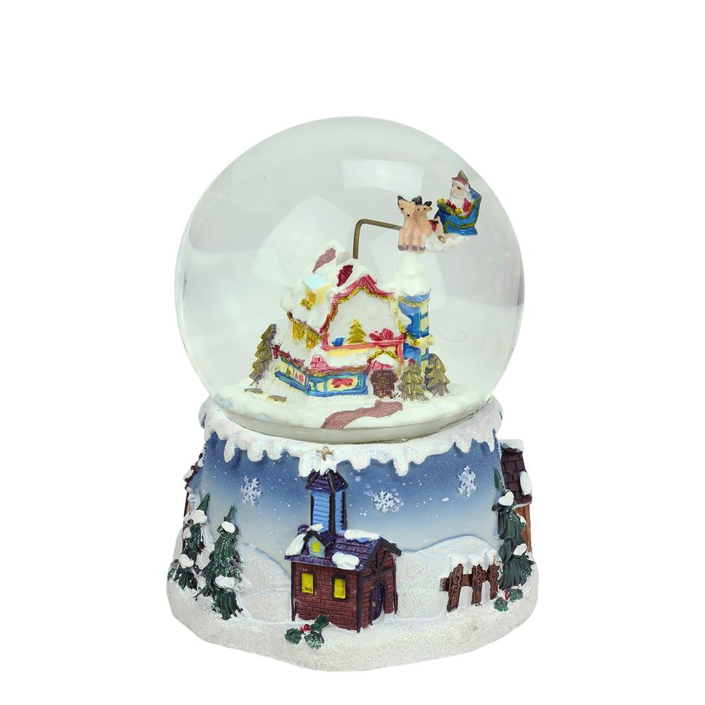 Northlight 5 5 In Christmas Santa Claus On Sleigh And