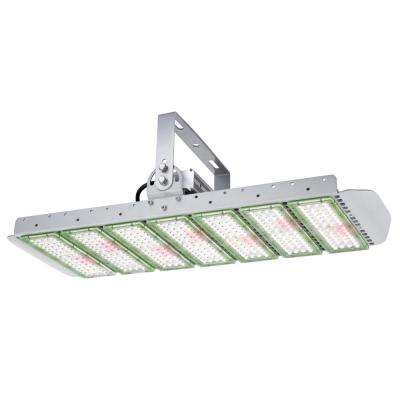 SunForce 330 2-1/2 ft. 330-Watt Broad Spectrum LED Steel Grow Light Fixture Cool White