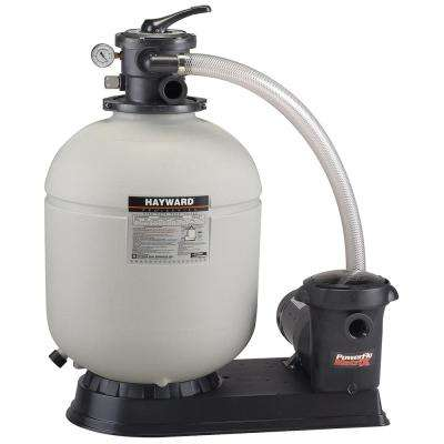 ProSeries 18 in. 1 HP Matrix Pump Sand Filter System with Twist Lock Cord