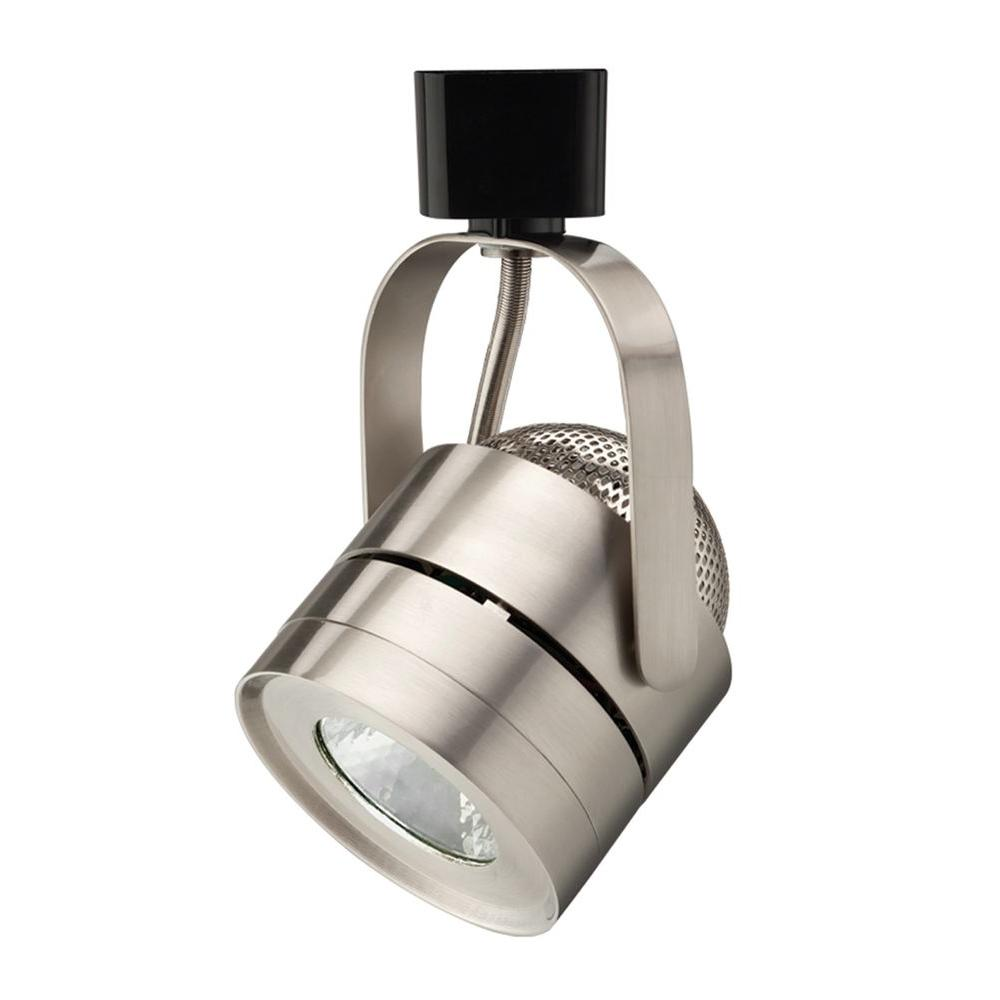 Track Light Heads: Lithonia Lighting Mesh Back 1-Light Brushed Nickel