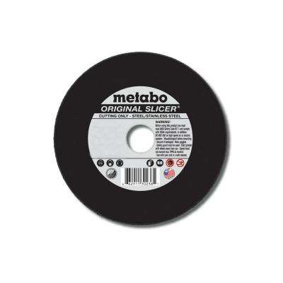 6 in. x 1/8 in. x 7/8 in. Aluminum Oxide Cutting Wheel (25-Pack)