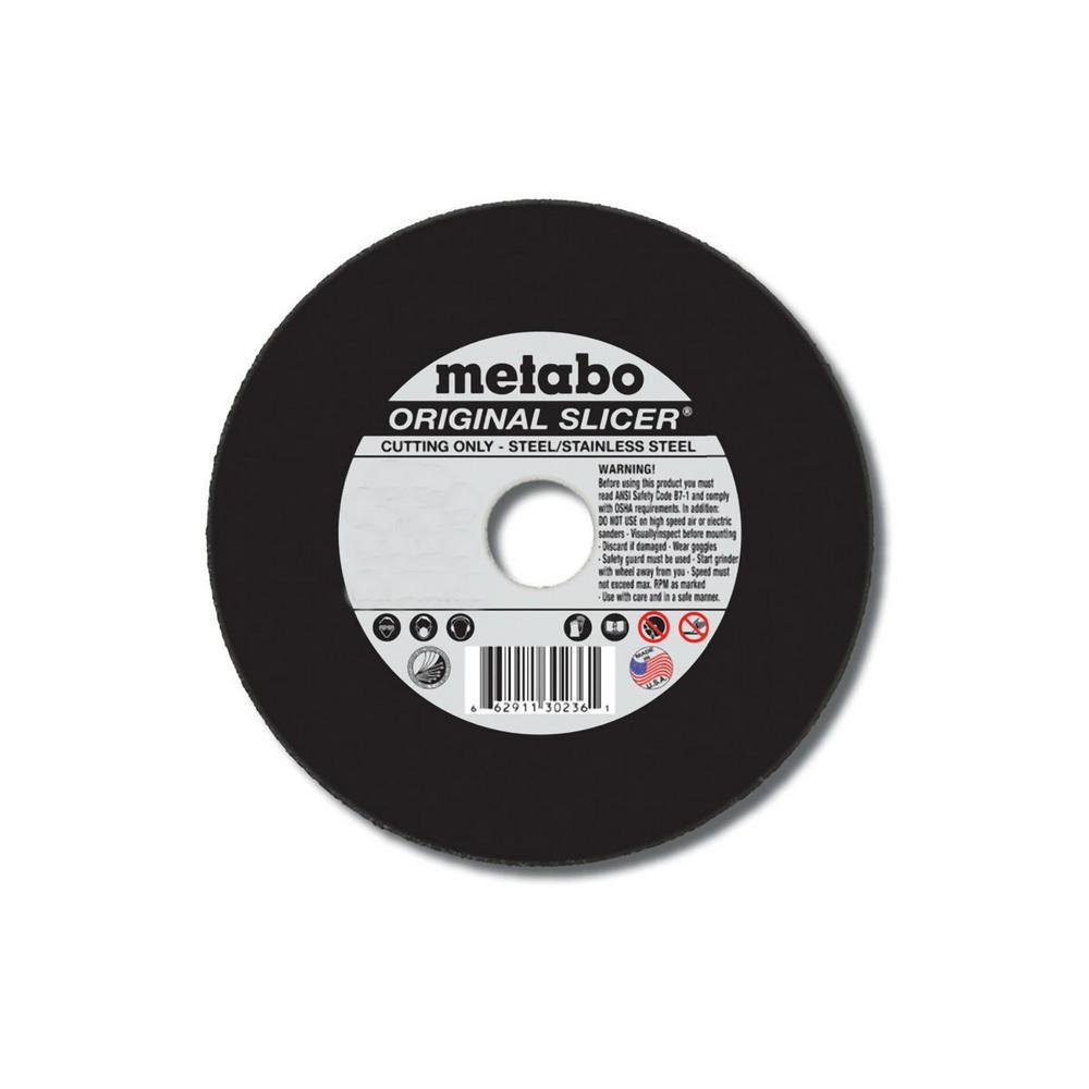 6 in. x 1/8 in. x 7/8 in. Aluminum Oxide Cutting Wheel (25-Pack)