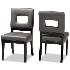 Faustino Gray Dining Chairs (Set of 2)