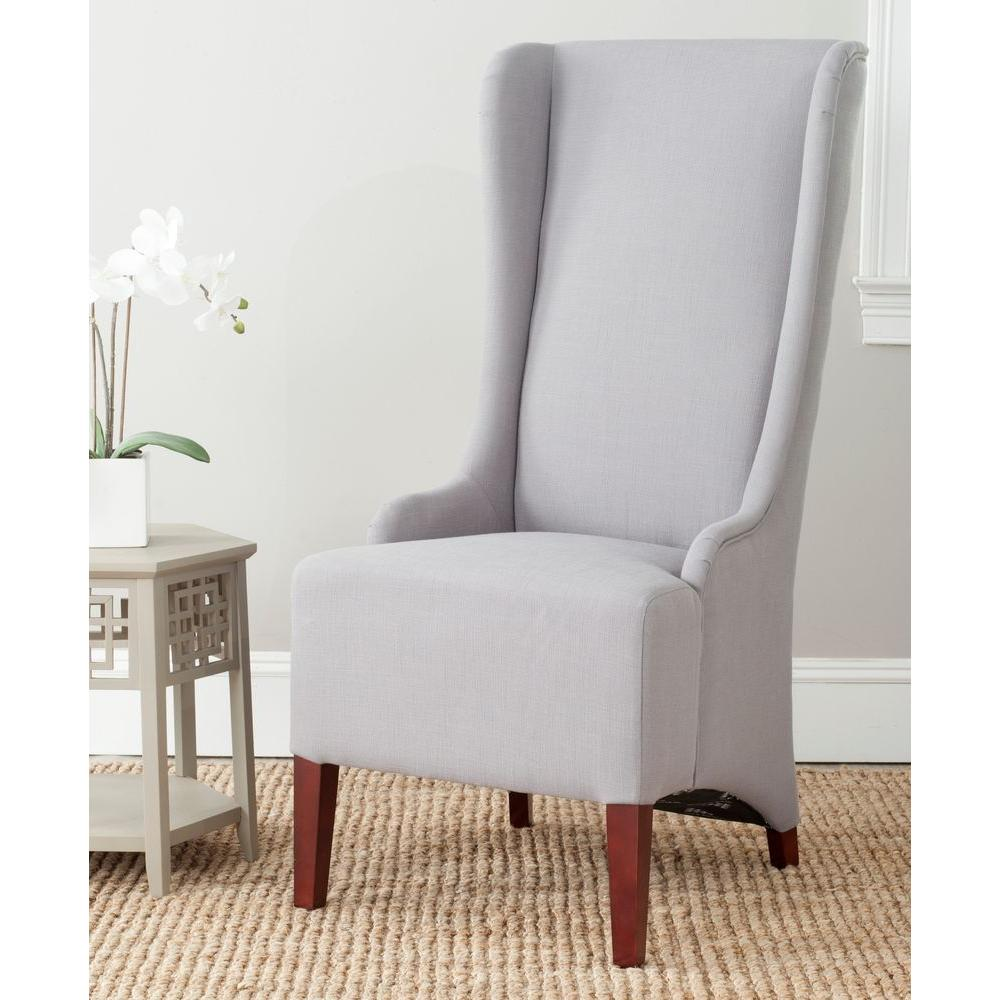 Safavieh bacall arctic grey cotton blend dining chair