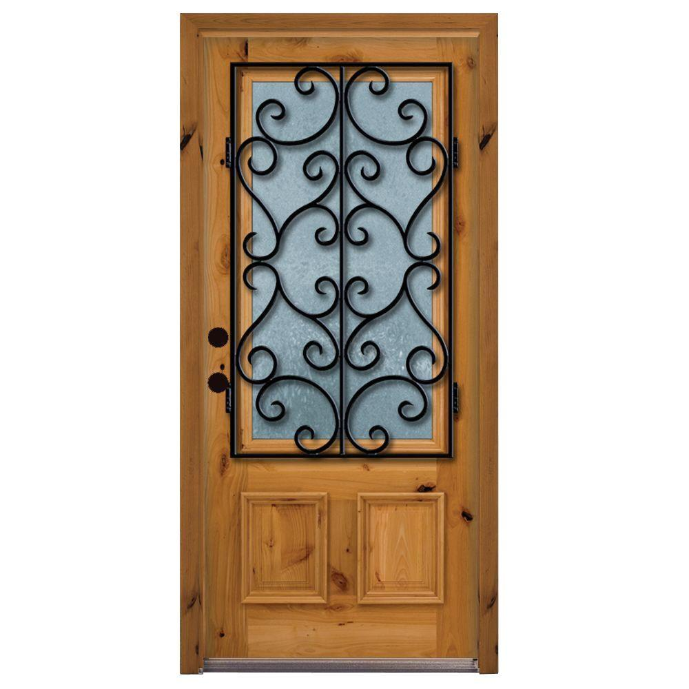 Decorative Steel Front Entry Doors : Steves sons in decorative iron grille