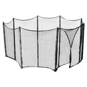 Upper Bounce Trampoline Enclosure Netting Measuring 62 Linear ft. Fits for Multiple Trampoline Frame Shapes/Sizes-12... by Upper Bounce
