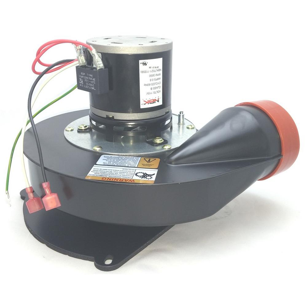 NBK MOTORS Replacement Furnace Draft Inducer/Exhaust Vent Venter Motor