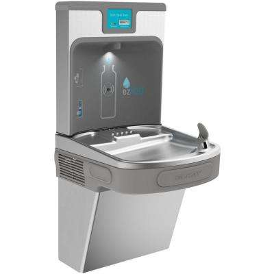 Filtered 8 GPH EZH2O ADA Stainless Steel Drinking Fountain with Bottle Filling Station