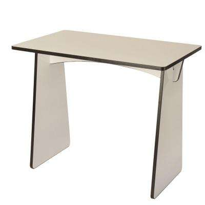 Laminated Dry Erase Board Knock Down Desk