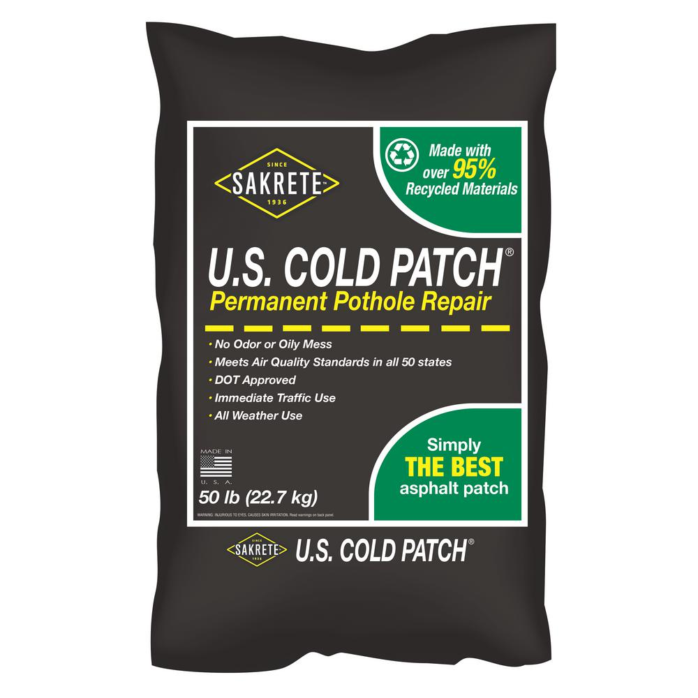 SAKRETE 50 lb. U.S. Cold Patch Pothole Repair