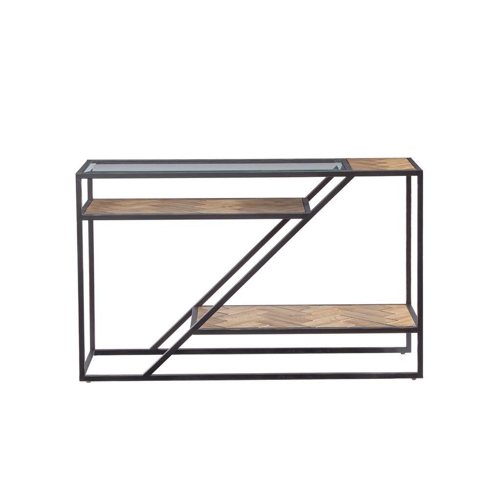 Galaway Fir Parquet Sofa/Console Table