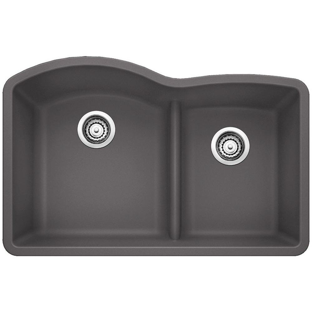 lowes composite granite kitchen sinks blanco undermount granite composite 32 in 0 9073