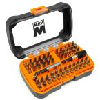 1/4 in. Hex Shank Impact-Rated Magnetic Screwdriver Bit Set (60-Piece)