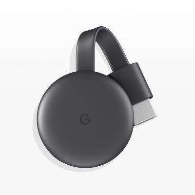 Chromecast (Latest Model) Streaming Media Player in Charcoal