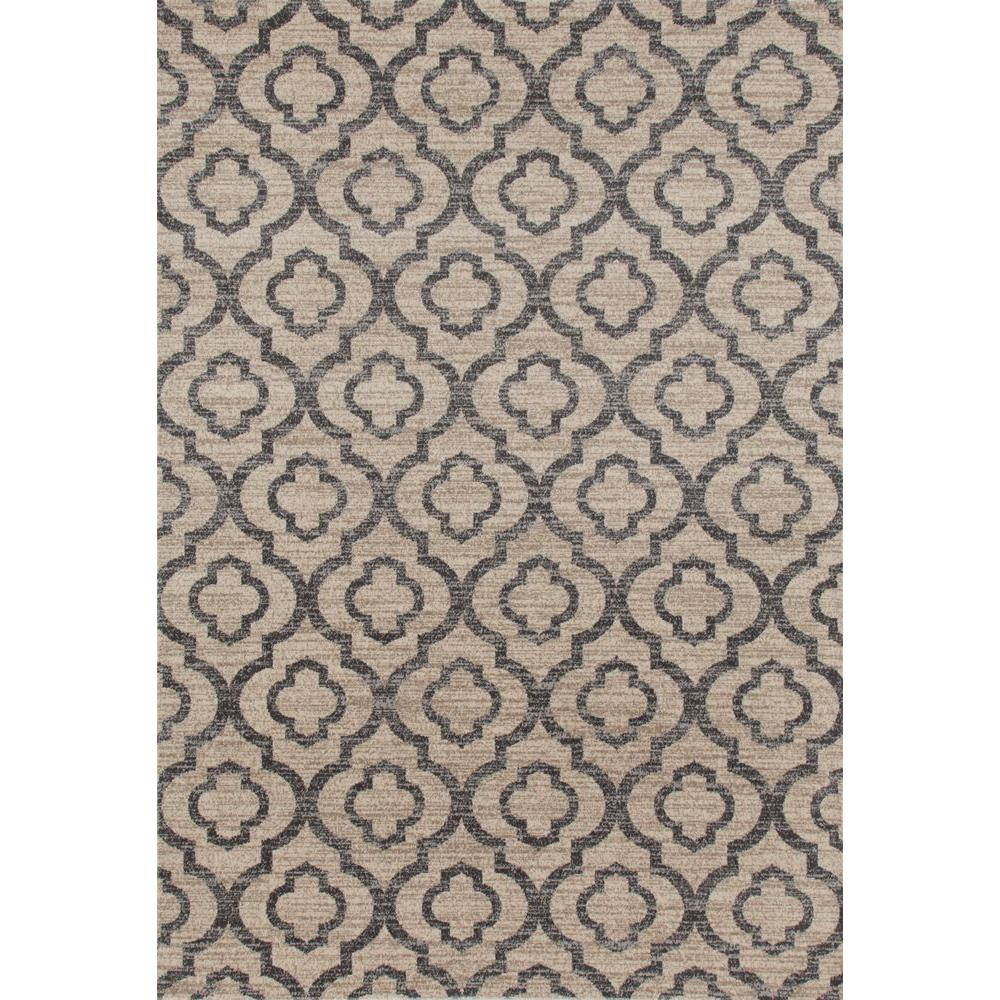 World Rug Gallery Moroccan Trellis Pattern High Quality Soft Cream 5