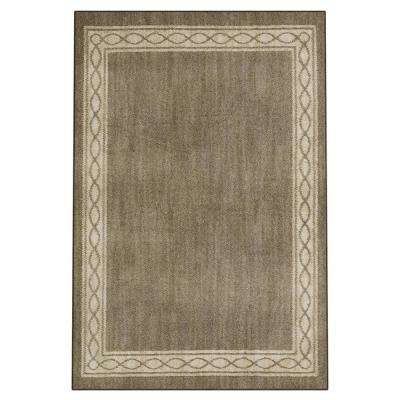 Sparrow Hazel Nut/ Bone White 4 ft. x 6 ft. Area Rug