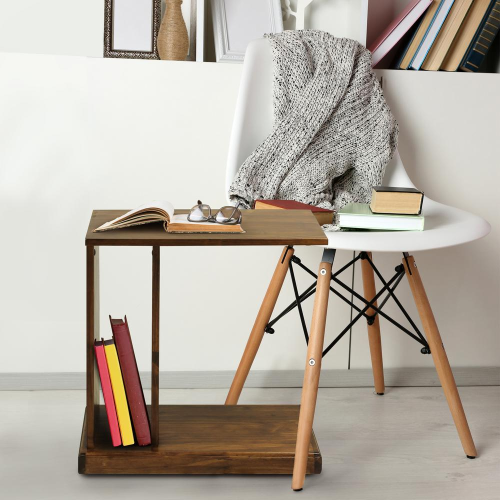 Charmant Casual Home Warm Brown C Side Table