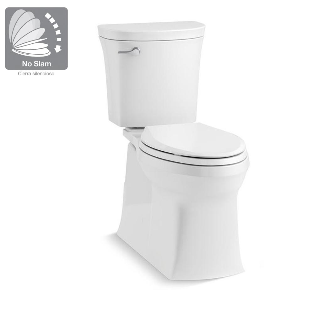 Kohler Valiant The Complete Solution 2 Piece 1 28 Gpf Single Flush Elongated Toilet In White K 45927 0 The Home Depot