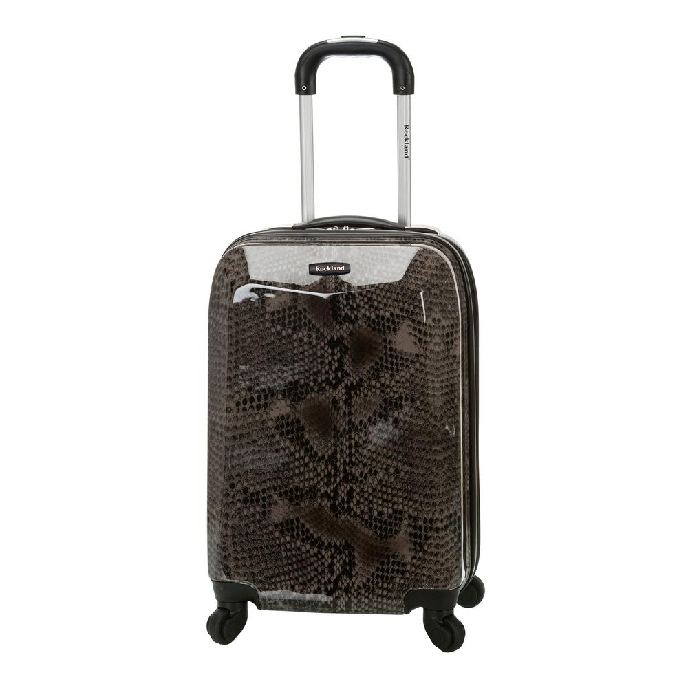Rockland 20 in. Polycarbonate Carry-On, Snake