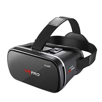 360 Degree VR PRO Headset for Android and iOS in Red