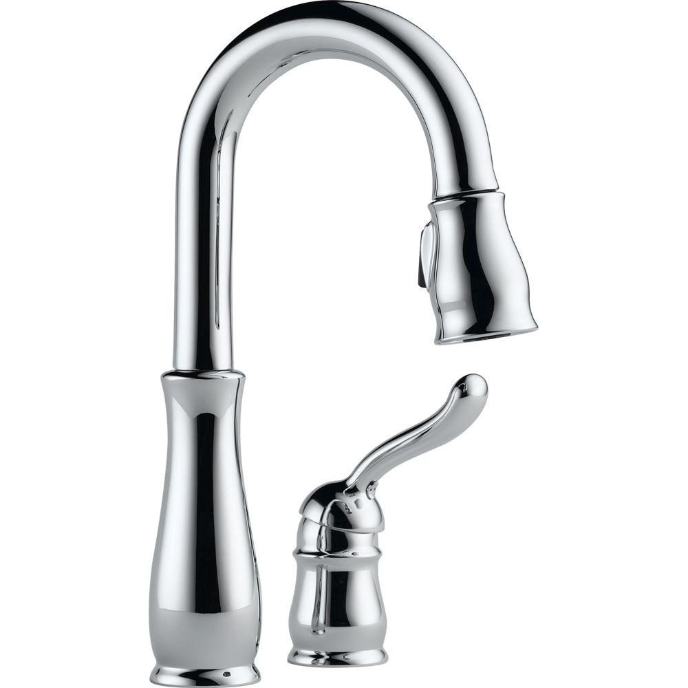 Delta Leland Chrome Pull Down Kitchen Faucet