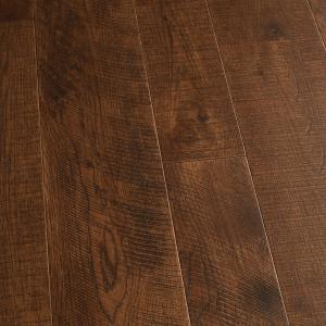 Hickory Sunset 3/8 in. T x 4 in. and 6 in. W x Varying L Engineered Click Hardwood Flooring (19.84 sq. ft./case)
