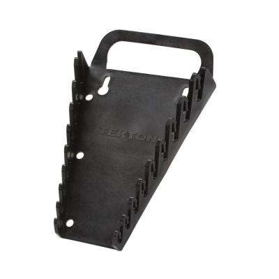5 in. 9-Tool Store-and-Go Wrench Rack Keeper in Black