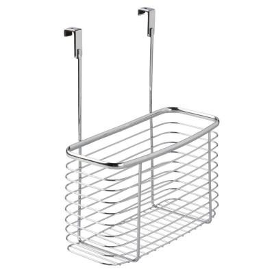 Axis Over The Cabinet Extra Deep Storage Basket in Chrome