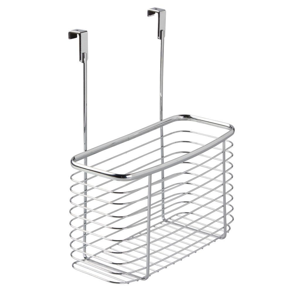 Interdesign Axis Over The Cabinet Extra Deep Storage Basket In