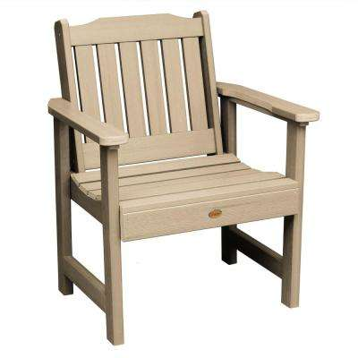 Lehigh Tuscan Taupe Recycled Plastic Outdoor Lounge Chair