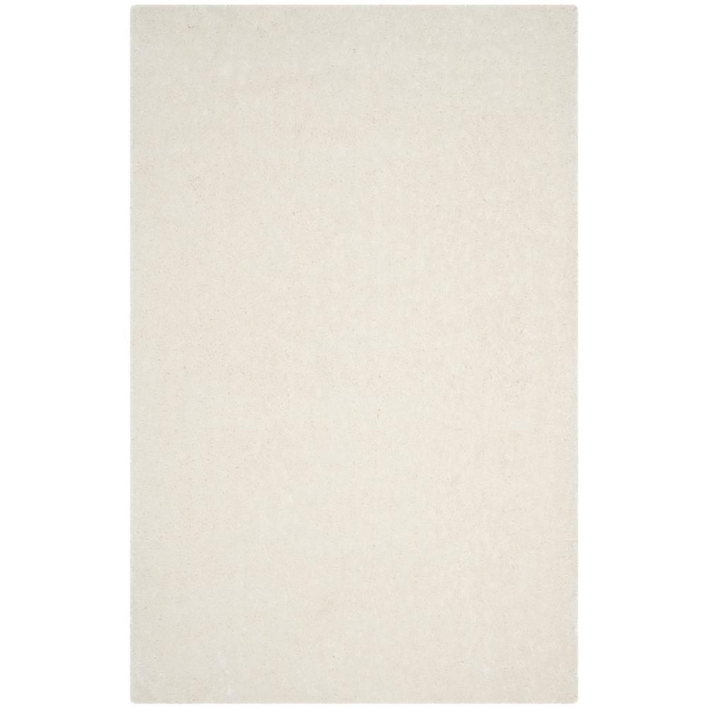 Luxe Shag Ivory 9 ft. x 12 ft. Area Rug