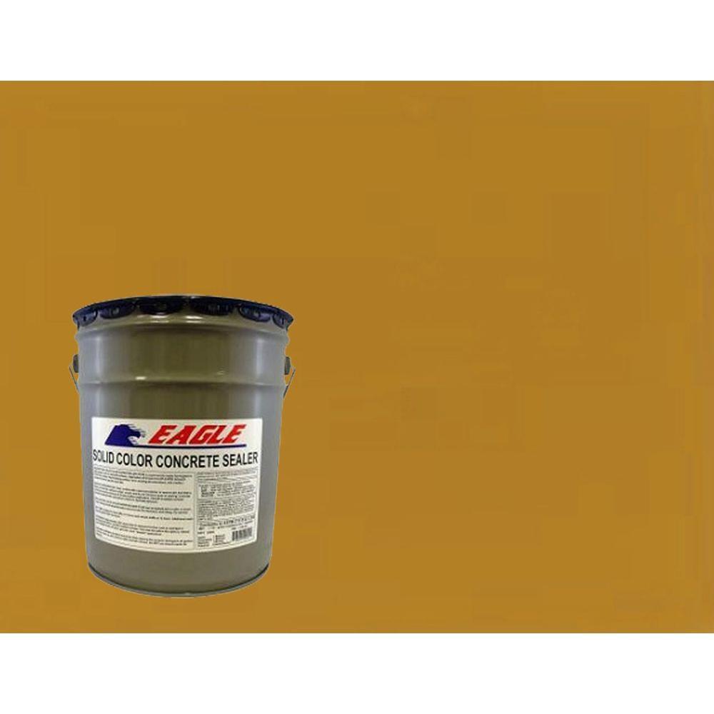5 gal. Terra Orange Solid Color Solvent Based Concrete Sealer