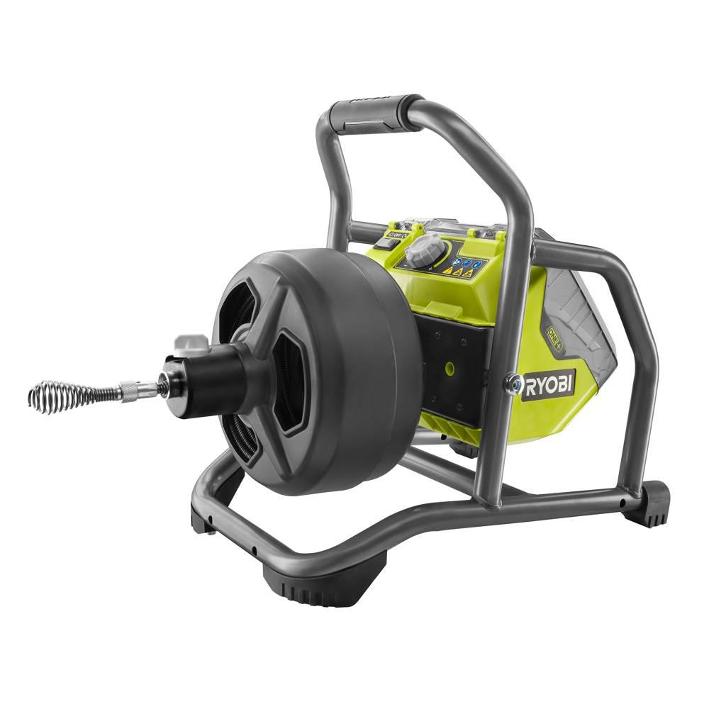 RYOBI RYOBI 18-Volt ONE+ Hybrid Drain Auger Kit with 50 ft. Cable, 2 Ah Battery, 18-Volt Charger, and Accessories