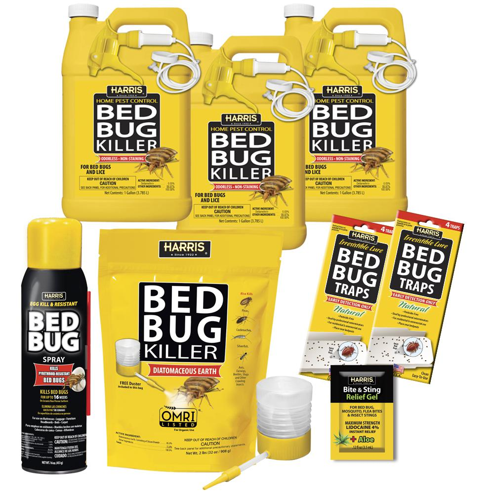 Harris Bed Bug Commercial Kit
