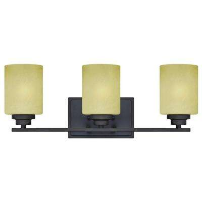 Ewing 3-Light Oil Rubbed Bronze Wall Fixture