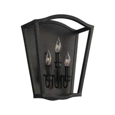 Yarmouth 3-Light Antique Forged Iron Sconce
