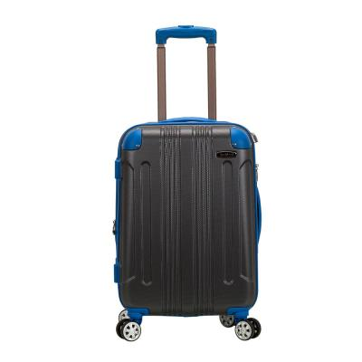 Expandable Sonic 20 in. 2-tone Grey Hardside Spinner Carry On Luggage