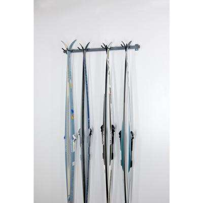 51 in. W Cross Country 4-Ski Rack