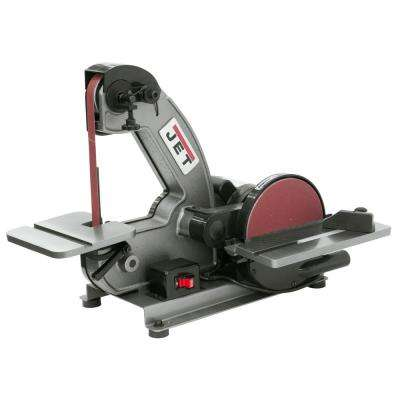 1/3 HP 1 in. x 42 in. Benchtop Belt and 8 in. Disc Sander, 115-Volt J-4002