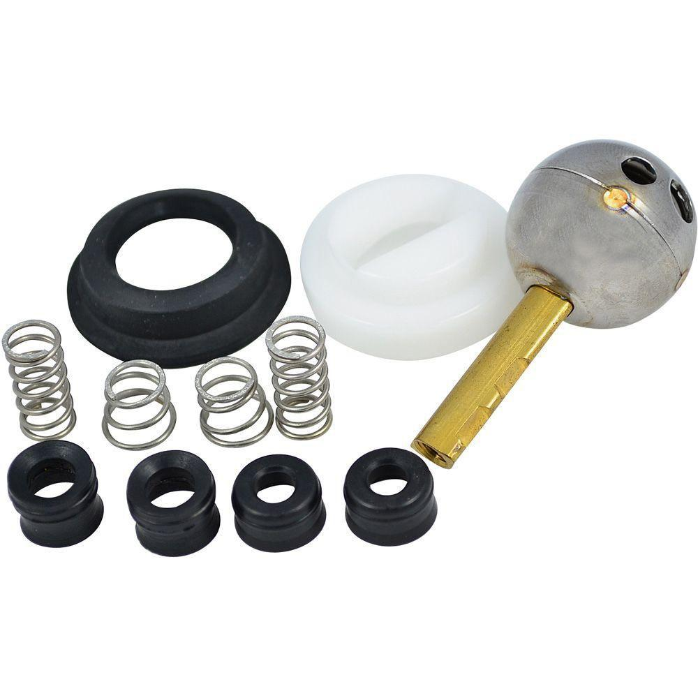 Partsmasterpro Repair Kit For Delta With 212 Style Stainless Steel Ball 58396b The Home Depot