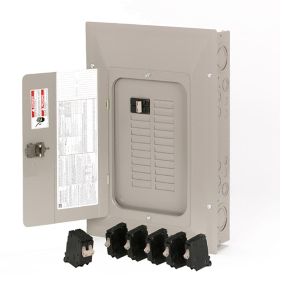 Eaton CH 100 Amp 22-Space 44-Circuit Indoor Main Breaker Loadcenter with  Cover