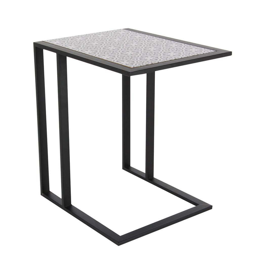 High Quality Internet #301990156. Modern L Shaped Lattice Side Table ...