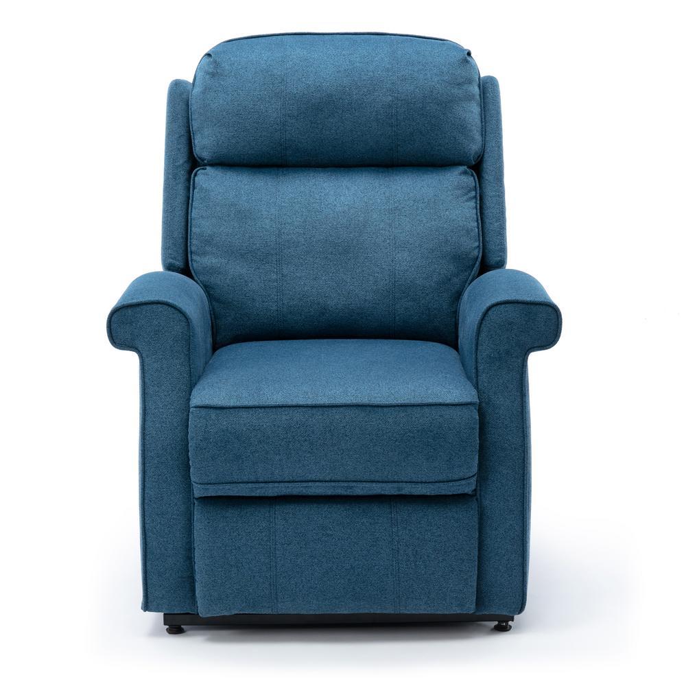 Lucerne Cadet Blue Traditional Lift Chair