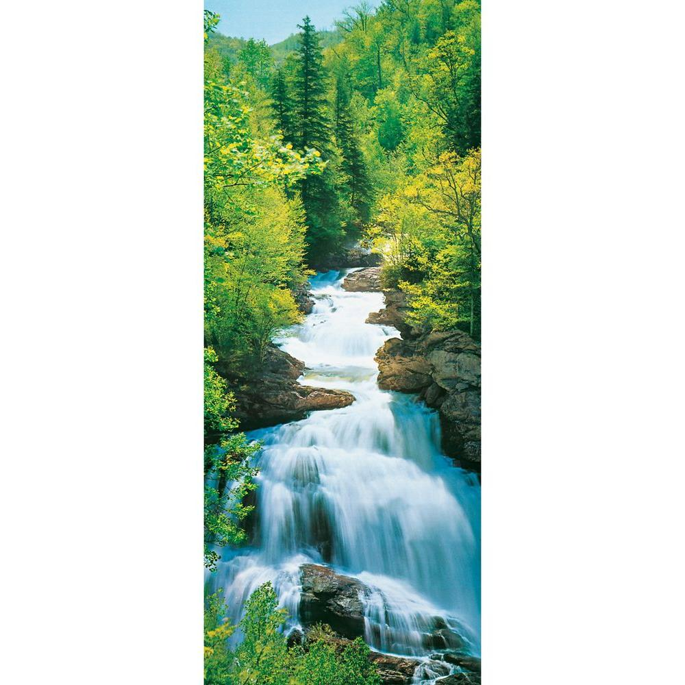 Ideal Decor 79 in. x 34 in. Wonderfall Wall Mural