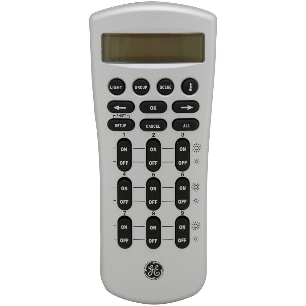 GE GE Z-Wave Wireless Lighting Control Advanced Remote, 45601 -DISCONTINUED