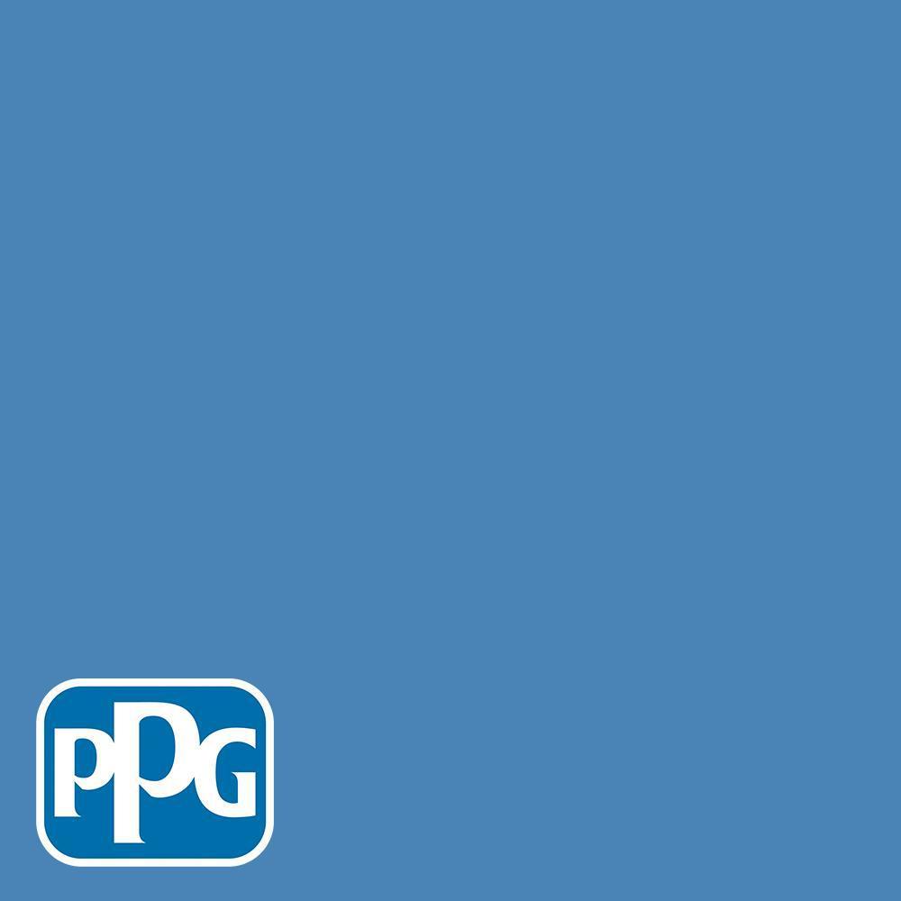 Hdgv14 Bright Cornflower Blue Satin Interior Paint With Primer